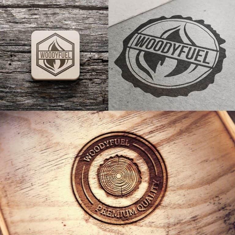 Logo concepts for brand design