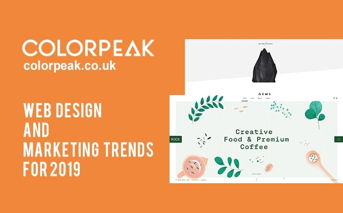 Web design and Marketing trends for 2019