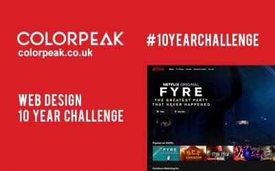 Web Design: 10 Year Challenge