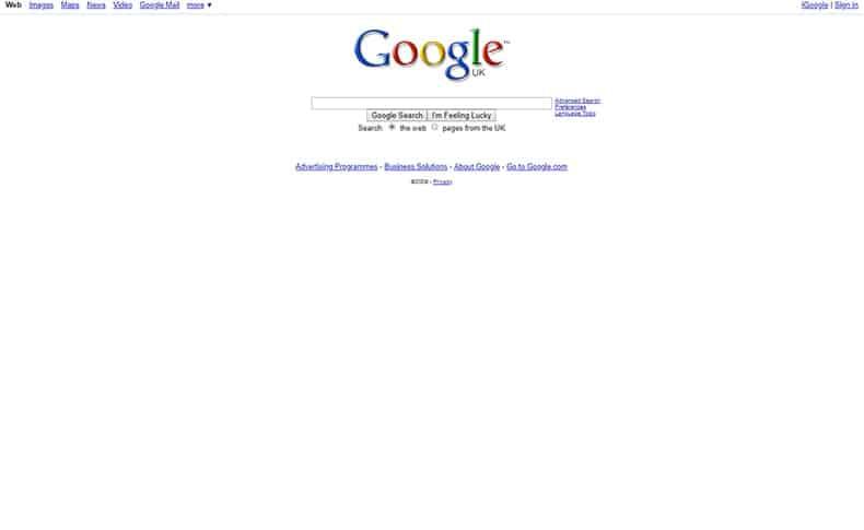 Google 2009