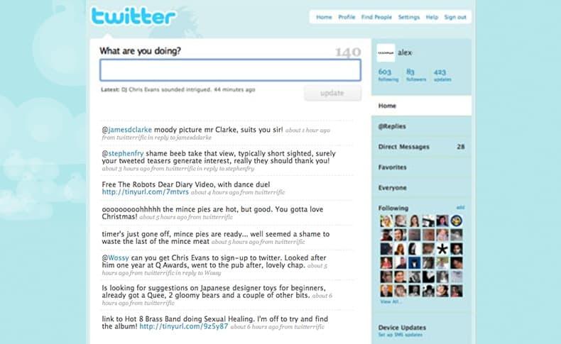Twitter 2009
