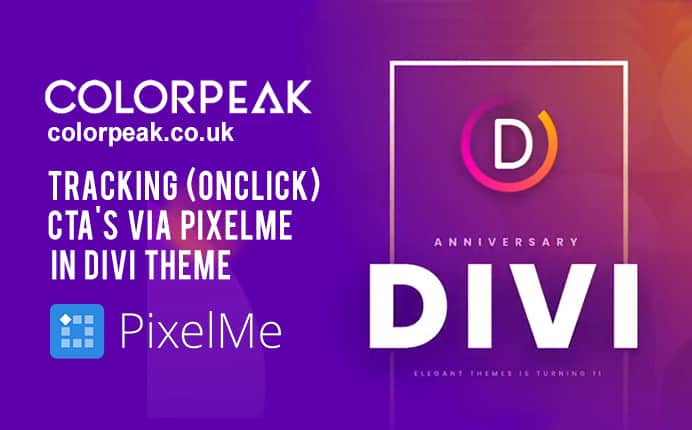 How to implement Event Tracker of PixelMe in Divi