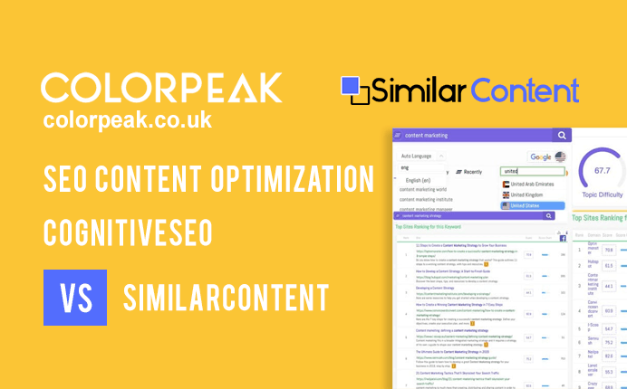 SEO Content Optimization – CognitiveSEO vs SimilarContent