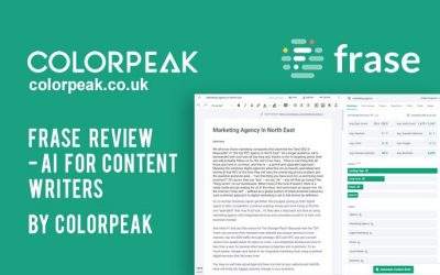 Frase Review – AI for Content Writers
